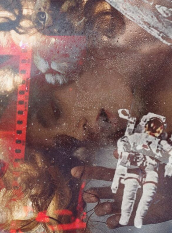 """COLLAGE. SERIE. """"LOST IN SPACE""""."""